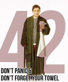 Let's discuss another of Martin's roles...Arthur Dent in Hitchhiker's Guide to the Galaxy ;)