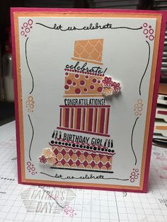 Kristin's Cards and Creations: Cake Crazy