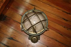 Show me the light!  #Porthole light, #Brass, 10 inch, wired for 120v bulb, in #Annapolis