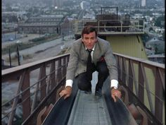 Mike Connors in The Many Deaths of Saint Christopher, a first-season Mannix episode. Mannix Tv Show, Mike Connors, Tv Detectives, Childhood Tv Shows, Steve Austin, Saint Christopher, Private Eye, Stars Then And Now, Tv Land