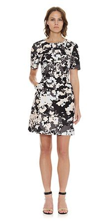 Womens Dresses at Whistles, Terrazo Print Structured Dress