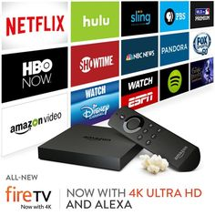A Review of the Amazon Fire 4K TV box -
