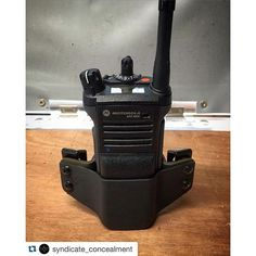 ~Our first Radio holster. Slowly venturing out into making accessories for our family in blue. Keep posted for more! Coldre Kydex, Kydex Holster, Police Gear, Military Gear, Police Officer, Tactical Survival, Tactical Gear, Mobile Ham Radio, Hf Radio