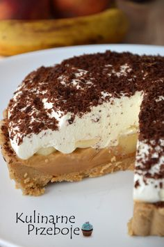 Banoffee Pie, Sweets Cake, Food And Drink, Cookies, Eat, Ethnic Recipes, Crafts, Tailgate Desserts, Pies