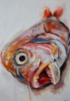 Michelle Parsons - Paintings for Sale Nature Paintings, Animal Paintings, Tulip Drawing, Fish Artwork, Natural Form Art, Gcse Art Sketchbook, Louisiana Art, Sea Life Art, A Level Art