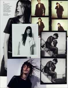 COUTE QUE COUTE: DAZED&CONFUSED JUNE 2010 »TOUCHED BY YOUTH« ARTWORK & PHOTOGRAPHY BY COLLIER SCHORR / PART #1/2
