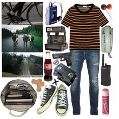 Stranger Things by spnlex on Polyvore featuring Sonia Rykiel, Converse, Esperos…