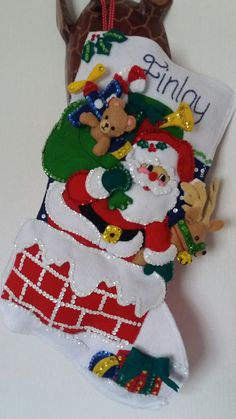 Stained Glass Christmas, Xmas Crafts, Vintage Christmas, Christmas Stockings, Craft Projects, Quilts, My Favorite Things, Holiday Decor, Molde