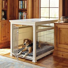 How To Build A Dog Crate Cover Bench Seat Crate Cover