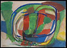 Gustav Bolin - Spirales vertes #gallery #art #abstraction #paris #pfgarcier