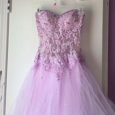 Mori Lee lavender sweetheart cut Prom dress - Google Search