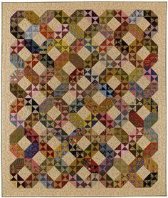 By Carrie Nelson using Jo Morton fabrics ( THere is a quilt video on x's and o's on Mo quilt co. This quilt pattern in so easy to make its unbelievable.... I will make this soon! Love it in this upgraded pattern too!