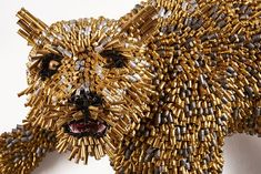I Turn 1000s Of Bullet Shells Into Animal Trophies Without Killing A Single Soul