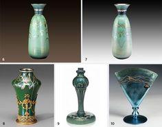 Steuben Glass: Innovators of Century Art Glass Steuben Glass, Antique Shelves, Glas Art, Vintage Keys, Leaded Glass, Glass Vase, Most Beautiful, Shelf, Objects