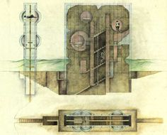 Raimund Abraham #architecture #drawing
