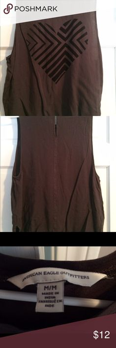 Sleeveless Tank Sleeveless tank with slits on left and right side of waist. American Eagle Outfitters Tops Tank Tops
