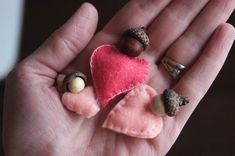 Valentine Babies - make three as pocket friends for the girls.