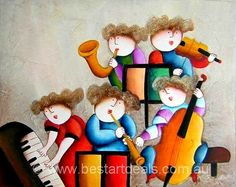 Kids Oil Painting. Hang This beautifully Hand painted oil painting in your children room. http://bestartdeals.com.au