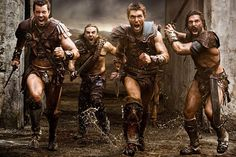 liam mcintyre - Google Search!  Something about the Story/conflict of Spartacus.  The FREE Man, who became a slave, who broke free, and went to War against the Roman Empire (kicking booty all the way).  I miss the original Spartacus, But Liam is doing a grand job and brings a stern strength to the role!