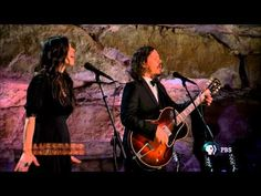 The Civil Wars perform Barton Hollow live in the Volcano Room at Bluegrass Underground 333 ft. below the ground in a cave that is part of Cumberland Caverns in McMinnville, TN