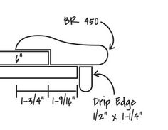 br450 chicago bar rail molding now available in oak poplar u0026 maple 1