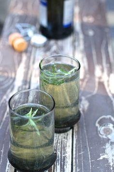 Sip It :: Rosemary Lemon Sparkler | Thoughtfully Simple