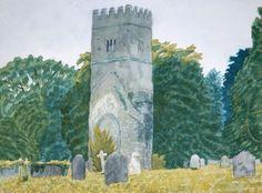 Adrian Berg 1997-dartington-hall-29th-july-watercolour-pencil-and-crayon
