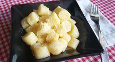 Ñoquis de ricota - Libre de gluten! Apta para celíacos. Receta: www.smileybelly.com