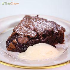 Clinton Kelly's Flourless Chocolate Cake #TheChew
