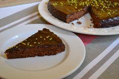 Eiklar Schoko Kuchen - Flaumiger und saftiger Schokoladekuchen ohne Eidotter zur Resteverwertung von Eiklar