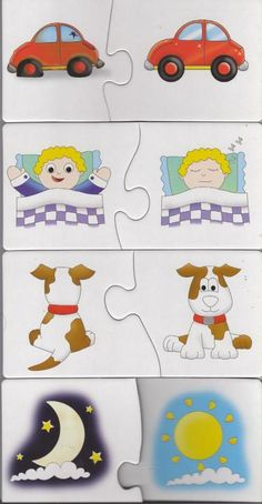 Aktivita a pomôcky pre šikovné deti :-) - Album používateľky majus246 - Foto 214 Preschool Learning Activities, Preschool Math, Infant Activities, Teaching Kids, Kids Learning, Create Your Own Puzzle, English Lessons For Kids, Fun Worksheets, Toddler Learning Activities