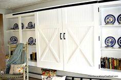 Diy Barn {closet} Doors