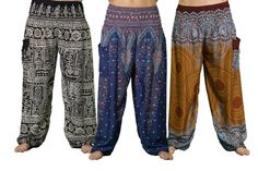 Harem Pants for lounging. I just ordered these so I can't review them but they look very comfy.