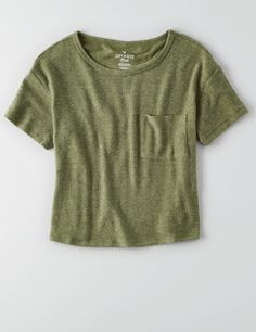 American Eagle Outfitters Mens & Womens Clothing Shoes & Accessories - Eagle Shirt - Ideas of Eagle Shirt Shirt - AEO Soft & Sexy Plush Pocket T-Shirt Olive American Eagle Outfits, American Eagle Shirts, Teen Girl Outfits, Cute Outfits, Pink Outfits, Casual Outfits, Mens Outfitters, Eagle Outfitters, Urban Outfitters