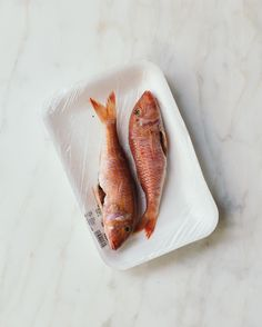 Recipes on Blondiechef's Portfolio Red Mullet, Fish Recipes, Food Styling, Meat
