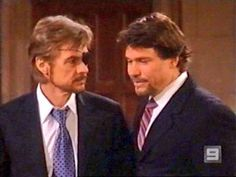 Our dapper dudes - Steve & Bo! Kristian Alfonso, Casting Pics, Best Soap, Days Of Our Lives, True Friends, Back In The Day, Sands, Hourglass, Dapper