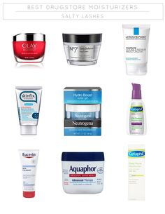 Best Drugstore Skin Care Products 2018 Hoe Tips - a list of the best drugstore moisturizers - salty lashes Coconut Oil Face Moisturizer, Best Drugstore Tinted Moisturizer, Diy Hair Moisturizer, Nars Tinted Moisturiser, Oil Control Moisturizer, Best Drugstore Lashes, Glossier Moisturizer, Drugstore Skincare, Coconut Oil Uses For Skin