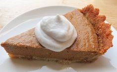 Apple Butter Pumpkin Pie (Paleo) #MyHeartBeets