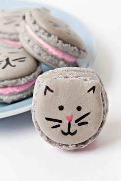 DIY Cat Macarons | Sprinkles for Breakfast