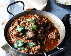 John Torodes goat curry slow cooked with onion, ginger, garlic, chilli, coconut milk and lots of wonderful Indian spices