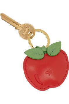 Mulberry   Leather apple key fob   NET-A-PORTER.COM