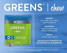 It Works! Greens chews jbeck87.myitworks.com