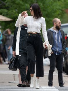 Kendall Jenner out in New York on April 30, 2017