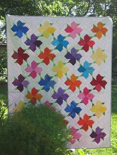 Spring Bloom Quilt Free Tutorial
