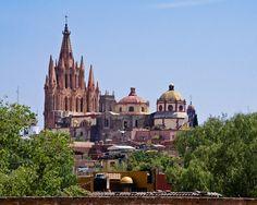 La Parroquia de San Miguel Arcángel, San Miguel de Allende, Mexico
