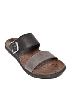 Merrell Women's Around Town Buckle Slide Sandals - Black - 11M