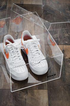 #snkrkeeper #sneakerdisplay #sneakerstorage #nike #nikeairforce #sneakercollector #sneakerfreaker Nike Air Force, Air Force 1, Display Boxes, Streetwear Brands, Adidas Stan Smith, Retail Design, Nike Women, Jordans, Adidas Sneakers