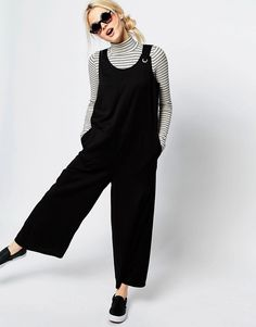 Image 1 ofMonki Sleeveless Wide Leg Jumpsuit
