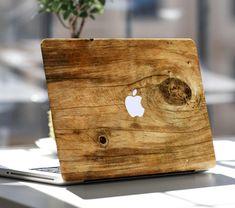 WOOD MacBook Decal Macbook Stickers Macbook Skin by SkinLee