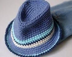 Image result for fedora hat crochet pattern free
